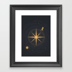 The Rising Moon Framed Art Print