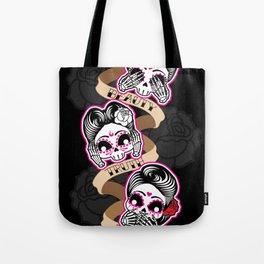 Wise Skulls Tote Bag