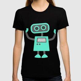 Little Robot Cartoon T-shirt