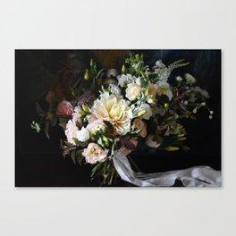 Blush Bouquet Canvas Print