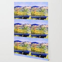 Catanzaro: view of the city with bridges Wallpaper