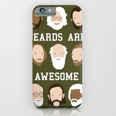 Beards Are Awesome iPhone 6s Slim Case