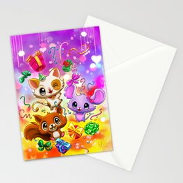 Kawaii Party Stationery Cards