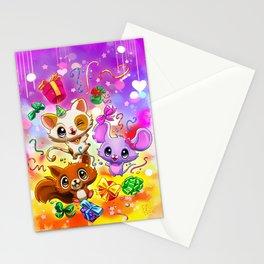 Kawaii Party Stationery Cards