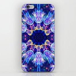 Jellyfish Dance Mandala iPhone Skin