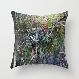 Standing in the Slough Throw Pillow