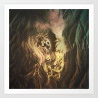Cosmic Entrance Art Print