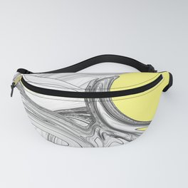 Fantasy 3 in Yellow Fanny Pack