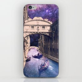 Space Canal iPhone Skin