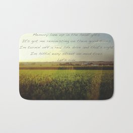 Country Life Bath Mat