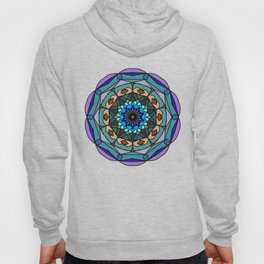 Mandala in vivid colors for energy obtaining Hoody