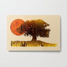 roots & sun Metal Print