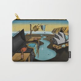 Where Time Stands Still - Surreal Sydney  Carry-All Pouch