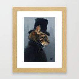 Mr. Hyde Framed Art Print