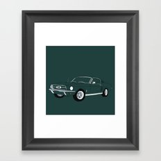 1968 Ford Mustang GT Framed Art Print
