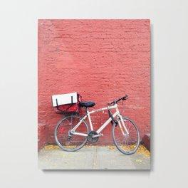 292. Manhattan's Bike, New York Metal Print