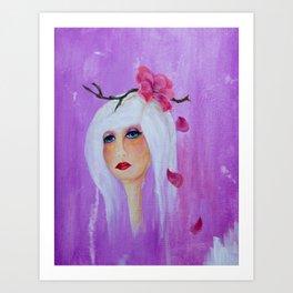 little sister Art Print