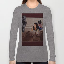 Vintage photo collage #220 Long Sleeve T-shirt