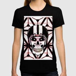 the skull of the dead Biker T-shirt