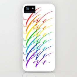 Love is Love! iPhone Case