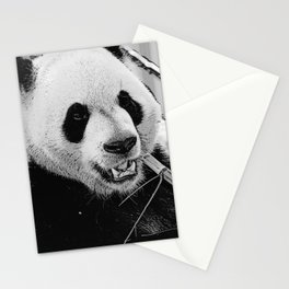 Panda Bear Munchies Stationery Cards