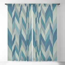 Aaron in Blue Blackout Curtain