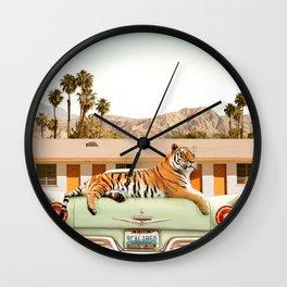 Tiger Motel Wall Clock