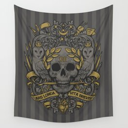 ARS LONGA VITA BREVIS Wall Tapestry