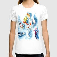 koi T-shirts featuring Koi  by Bridget Davidson