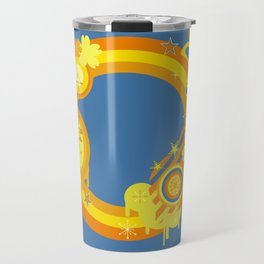 Abstract background Travel Mug