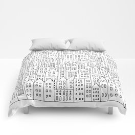 Coit City Pattern 1 Comforters