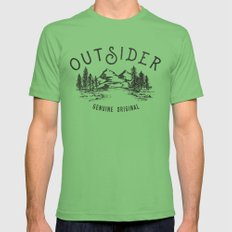 Outsider Grass Mens Fitted Tee X-LARGE