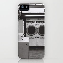 clean laundry iPhone Case