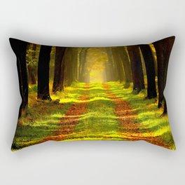 Forest Tree Way Rectangular Pillow