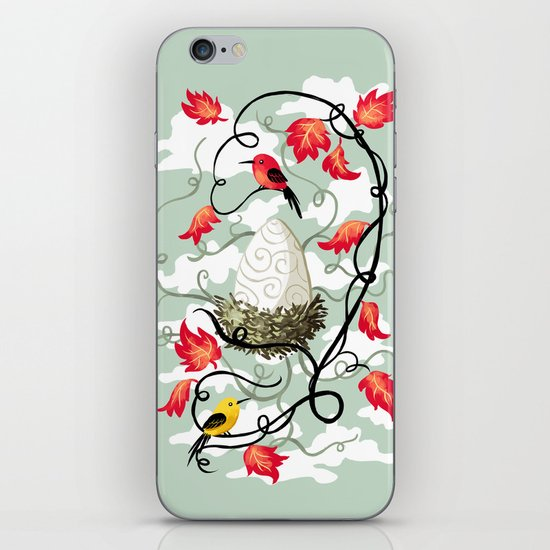 Nest 2 iPhone & iPod Skin