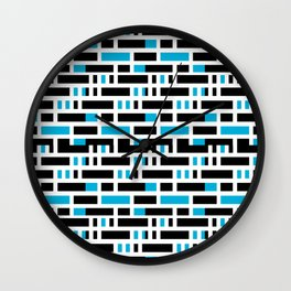 Linear Sequence Pattern Design Wall Clock