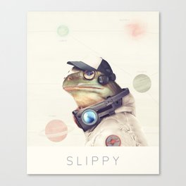 Star Team - Slippy Canvas Print