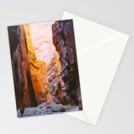 The Narrows of Zion Stationery Cards