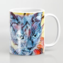 The TORTIE from our FUNK YOUR FELINE line Coffee Mug