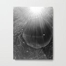 Piped Light Metal Print