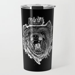 Berlin Bear King Travel Mug
