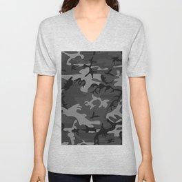 Camouflage - camo grey Unisex V-Neck