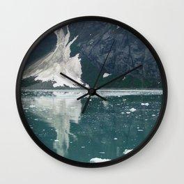 alaskan ice. Wall Clock