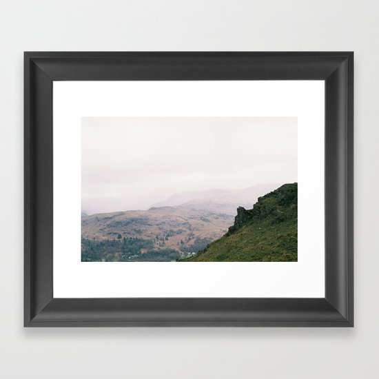 Lakes Framed Art Print