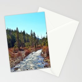 River in Tahoe National Forest Stationery Cards