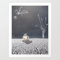 Harry and Milly Art Print