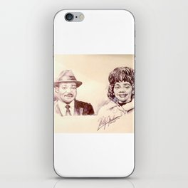Martin Luther King & Coretta Scott King iPhone Skin