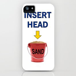 INSERT HEAD 01 iPhone Case