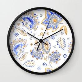 Design Textil Parsley Wall Clock