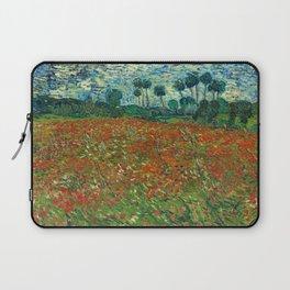 Vincent Van Gogh Poppy Field Laptop Sleeve